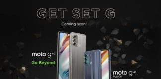 moto g60 and moto g40 fusion india launch