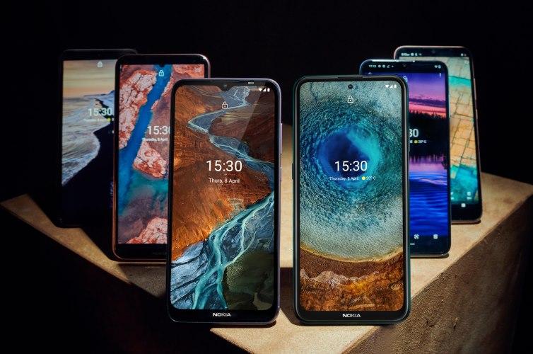 إطلاق Nokia X10 و X20 مع Snapdragon 480 5G SoC ؛ مع 4 هواتف اقتصادية أكثر