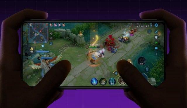 redmi k40 gaming phone screen