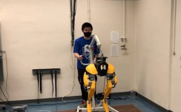 researchers taught this robot to learn to walk