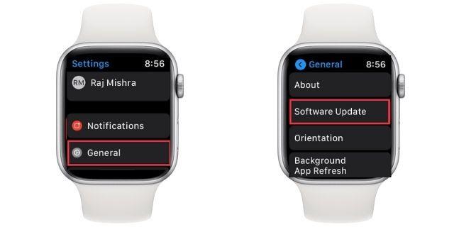 watchOS 7 software update