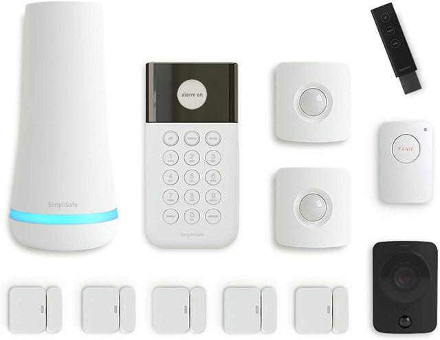 10. SimpliSafe Home Security System