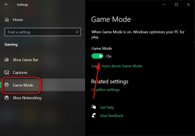 Windows 10 Game Mode; Optimize Your Windows 10 PC For Gaming