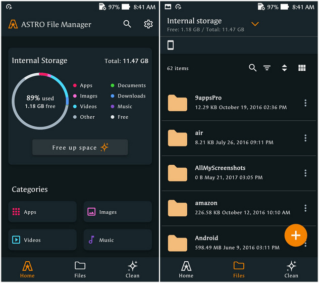 Astro File Manager; Best File Manage Apps for Android