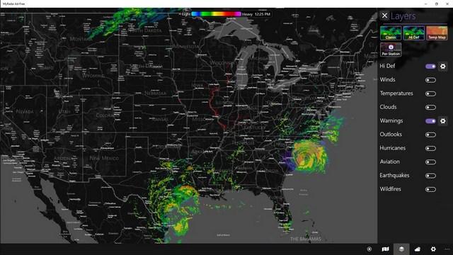 MyRadar: Best Weather Apps for Windows 10