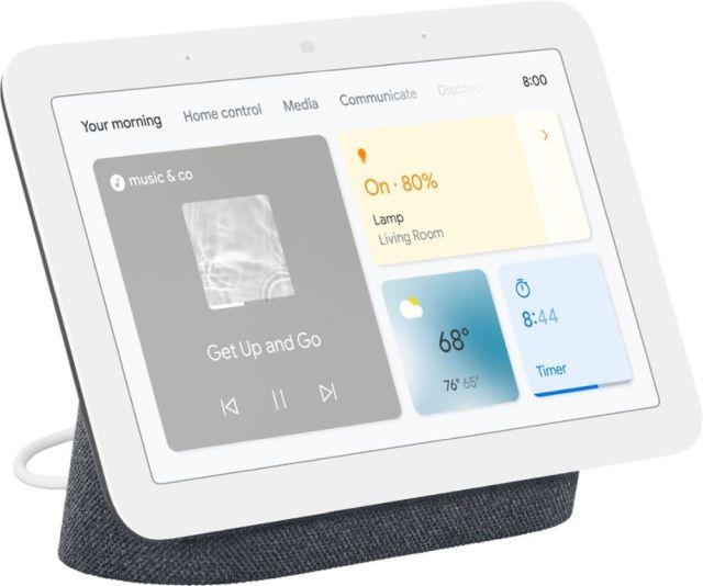 4. Google Nest Hub (2nd-gen) / Lenovo Smart Display