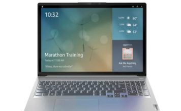 Alexa Show Mode Turns Your Lenovo Laptop into an Echo Show