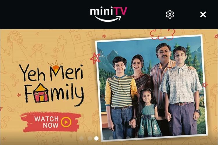Amazon miniTV is a Free Video Platform Within the Amazon App