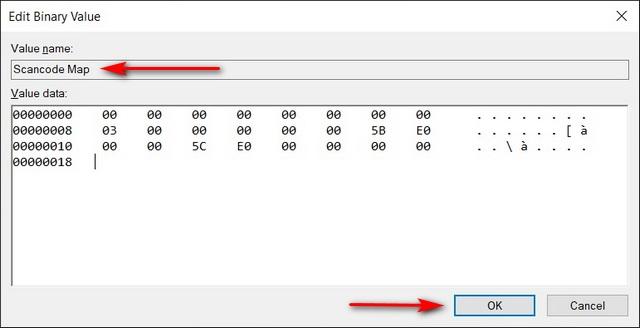 Disable Windows Key Using Registry Editor
