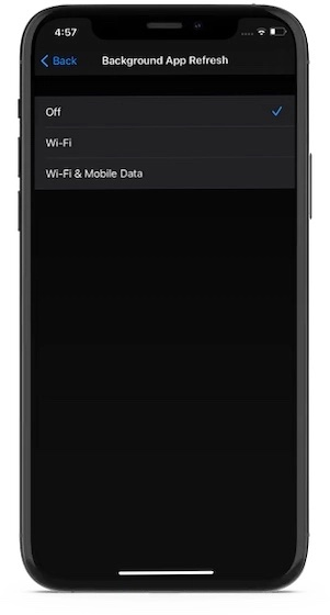 Disable-background-app-refresh