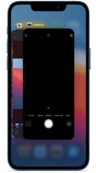 Erzwingen Sie das Beenden der Kamera-App auf dem iPhone