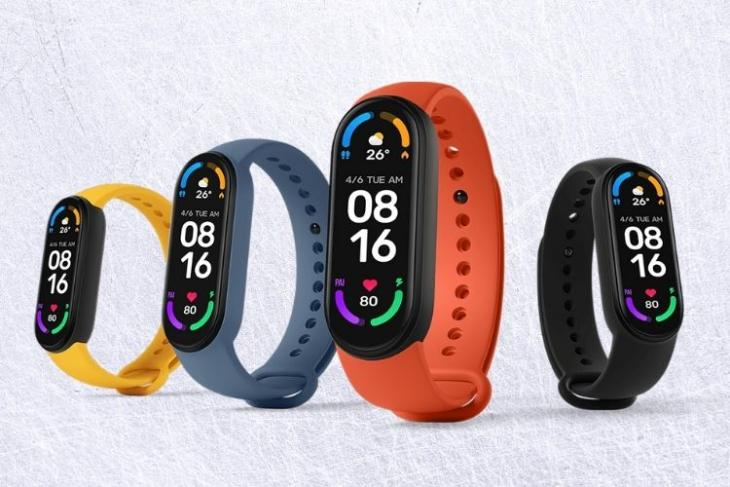 Mi Band 6 text reply feature