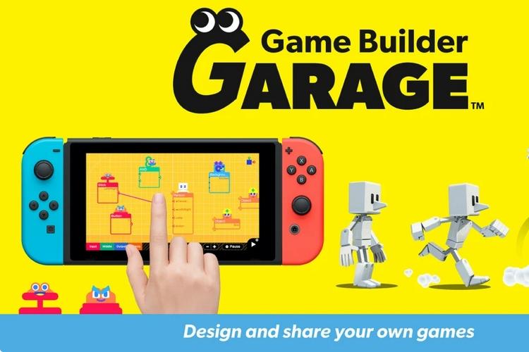 Nintendos Game Builder Garage Lets You Build Your Own Games