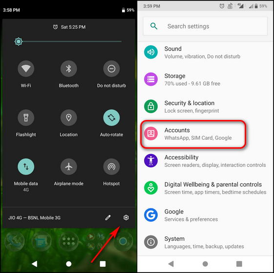 How to Sign out of One Google Account When Using Multiple Accounts