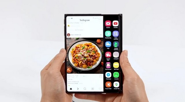 Samsung Showcases First Smartphone with a Dual-Folding Display