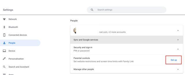 Set Up Parental Controls on Chromebooks (2021)