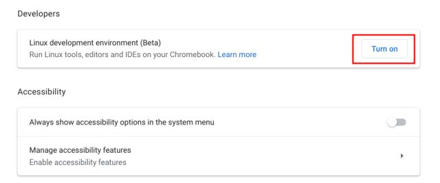 Use Linux on Your Chromebook (Updated May 2021)