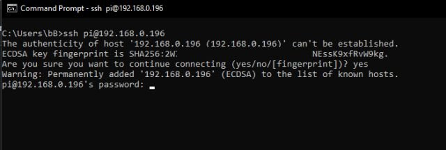 Verbinden Sie den Headless Raspberry Pi mit einem Windows-Laptop ohne Ethernet oder Monitor
