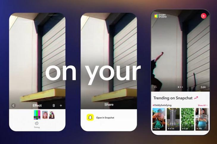 Snap Story Studio Is a Free Video Editing App for iOS