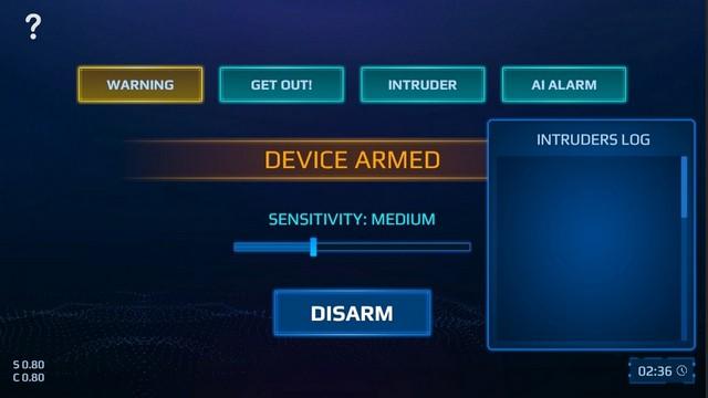 Spy Alarm for nintendo switch