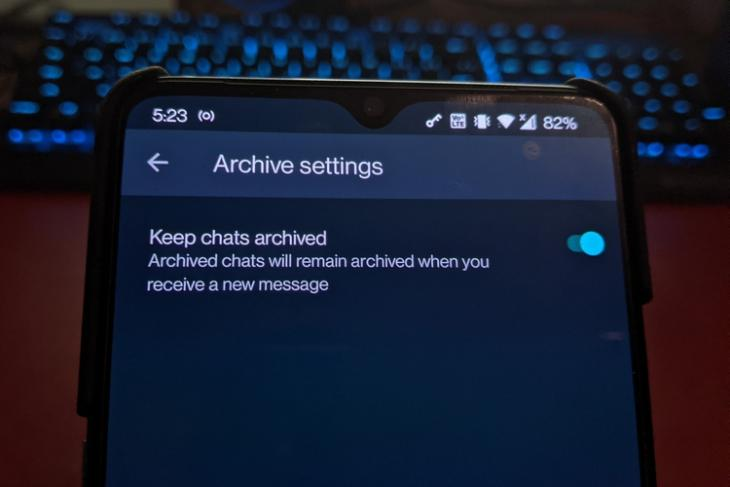 WhatsApp Now Lets You Mute Archived Chats Forever; Here's How it Works