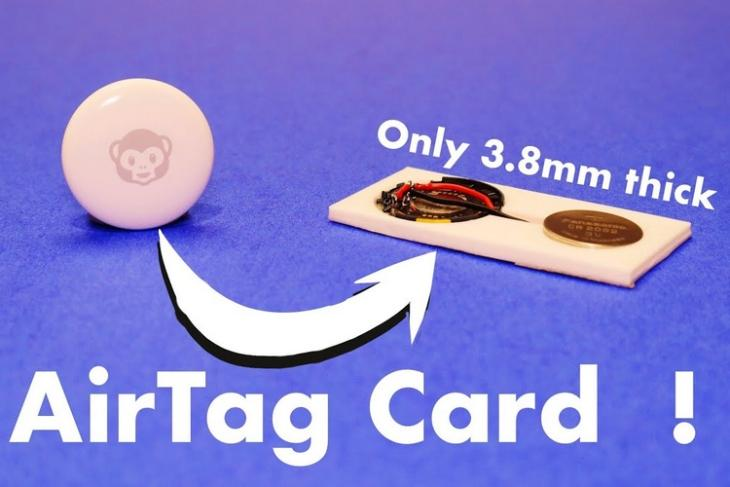 YouTuber Turns an AirTag into a Card for Wallets