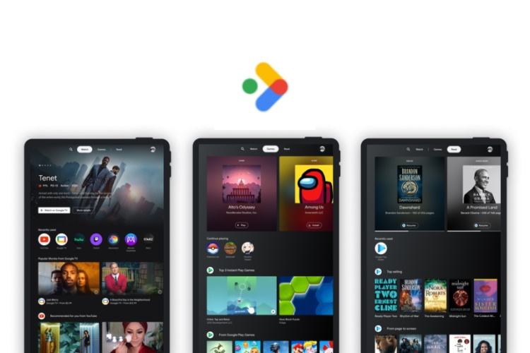 Google Adds A Dedicated 'Entertainment Space' to Android Tablets