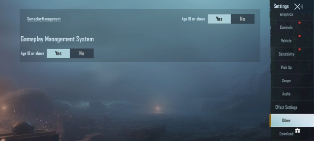 bgmi gameplay management system