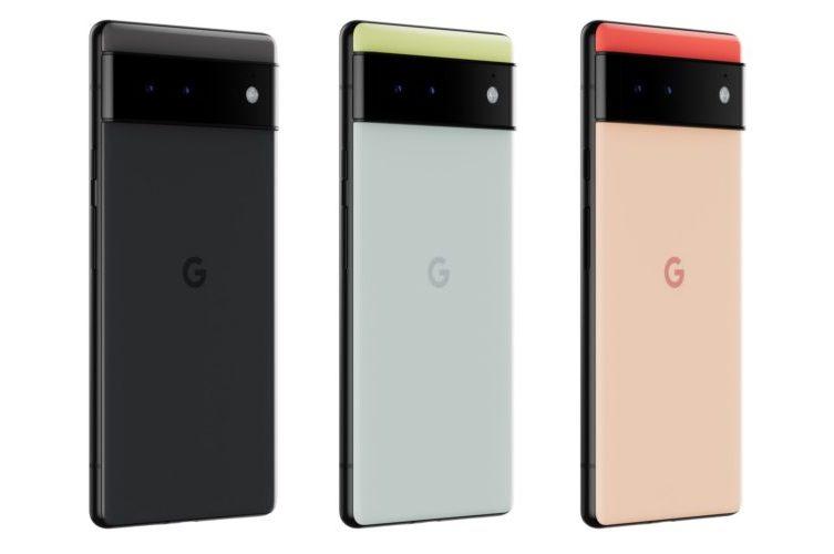 google pixel 6 color variants