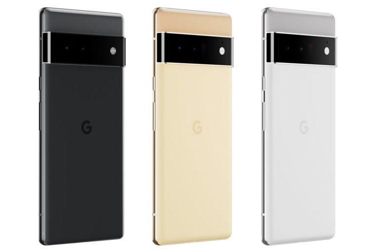 google pixel 6 pro color variants