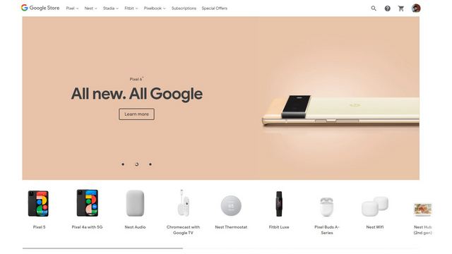 google store us home