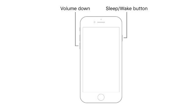 hard reset iphone 7 plus