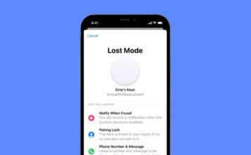 how to put an AirTag in lost mode
