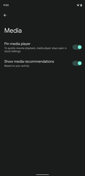 media recommendations based on activity