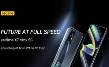 realme x7 max 5g india launch date