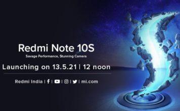 redmi note 10s india launch announced