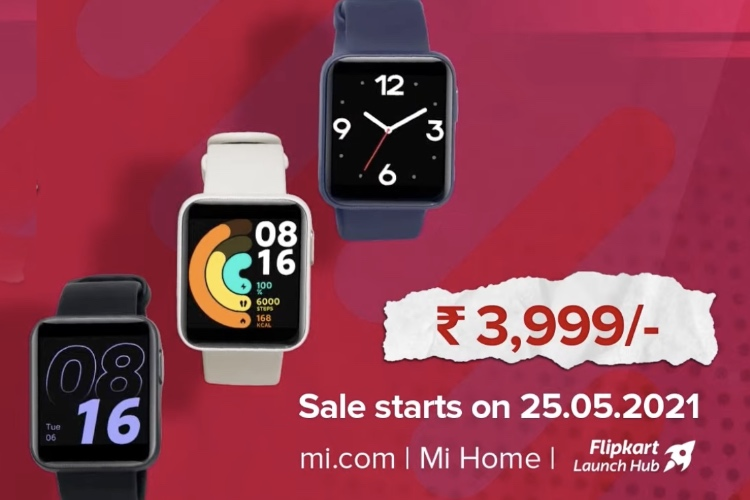 Redmi Watch Launched in India with GPS and 10 Day Battery Life at ₹3,999