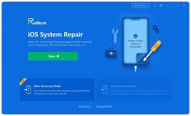 select repair iphone os