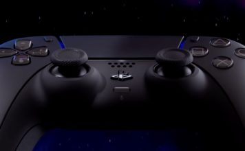 sony dualsense controller black color