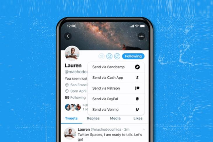 twitter launches new tip jar feature