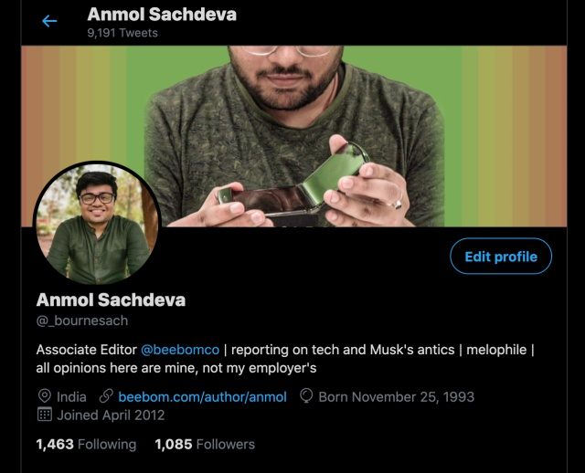 twitter verification - a complete profile is a must - how to get blue tick on Twitter
