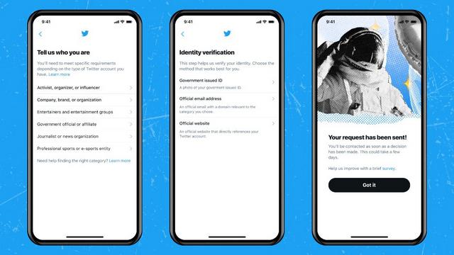 twitter verification flow