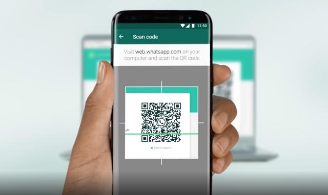 WhatsApp QR-Code auf Chromebook scannen