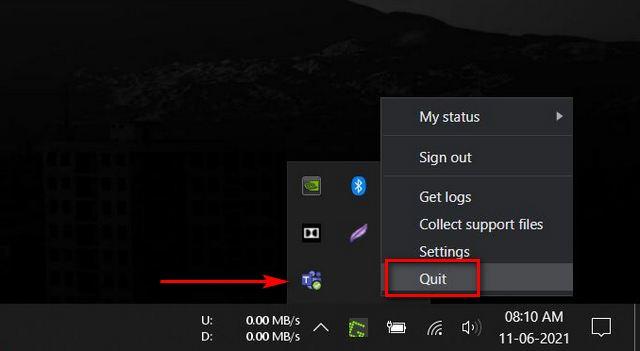 Löschen Sie den Microsoft Teams-Cache unter Windows 10