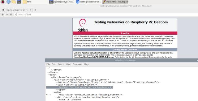 Configure a Raspberry Pi web server (2021)