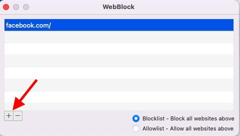 Block sites on macOS