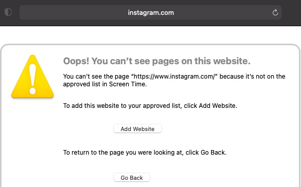 Blocked websites in Safari - How to Block Websites in Safari on iPhone and Mac