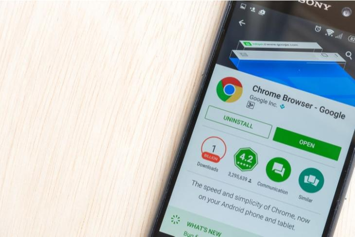 Chrome for android screenshot tool