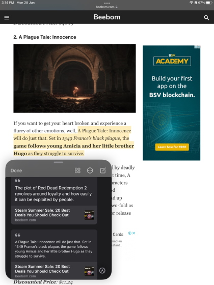 Text Highlighting