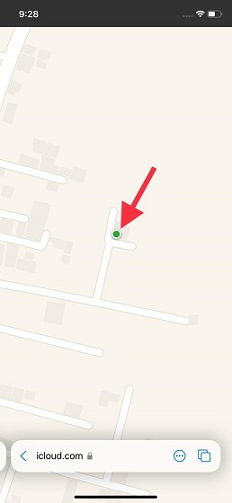 Current location - How to Find Your Lost iPhone